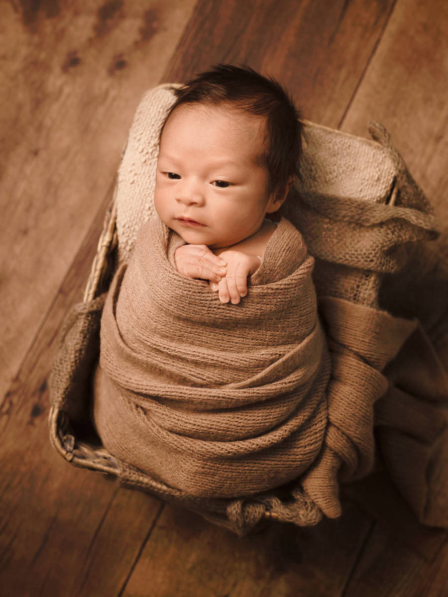 Newborn Photos - Adorable Baby Joshua 1